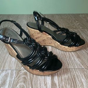 Cato wedge shoes size 9
